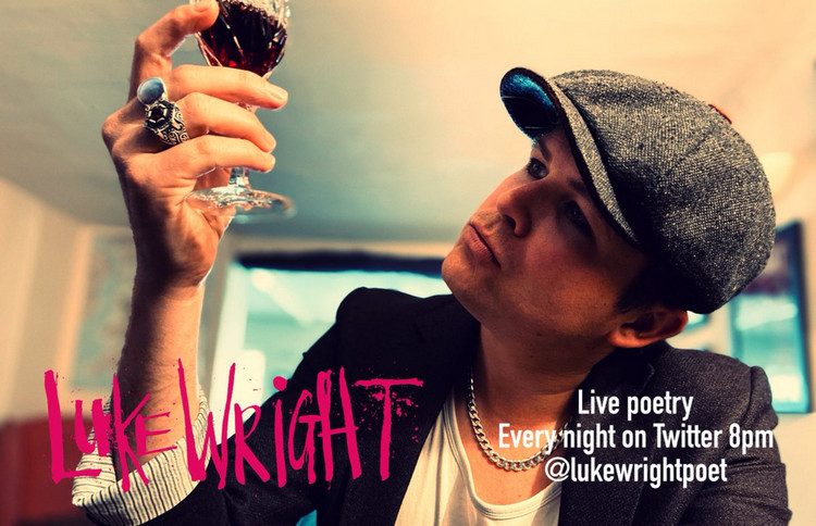 Luke Wright - Stand Up Poetry While Sitting Down at Home