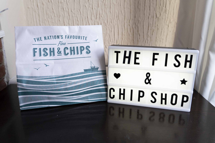The Fish N' Chip Shop Magdalen Street