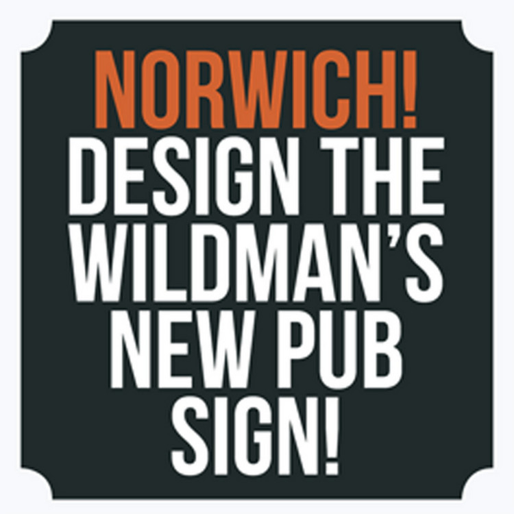 Design the Wlidman's new pub sign!